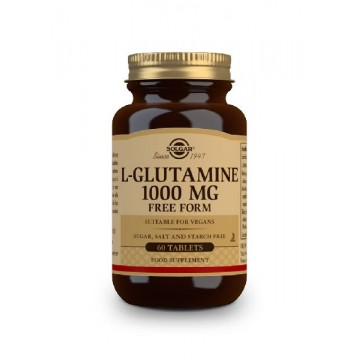 L-GLUTAMINA 1000 mg 60 caps Solgar