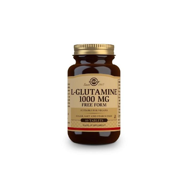 L-GLUTAMINA 1000 mg 60 caps Solgar