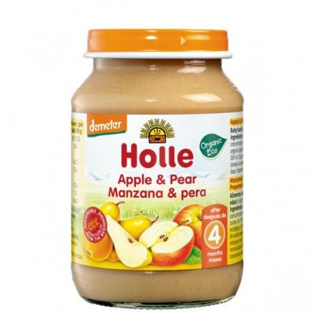 POTITO MANZANA Y PERA Bio 190 gr Holle