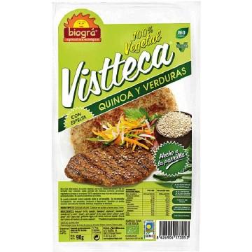 VISTTECA QUINOA Y VERDURAS Bio 90 gr