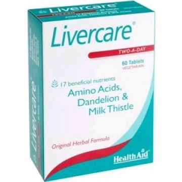 LIVERCARE 60 Caps Health Aid