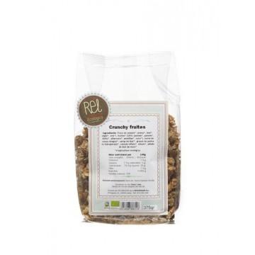 CRUNCHY FRUTAS Bio 375 gr Rel