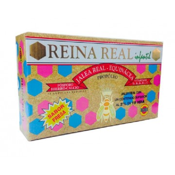 REINA REAL JUNIOR Sabor Fresa 20 Amp