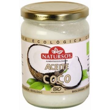 ACEITE DE COCO Bio 400 gr Natursoy