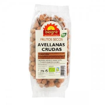 AVELLANAS CRUDAS Bio 200 gr