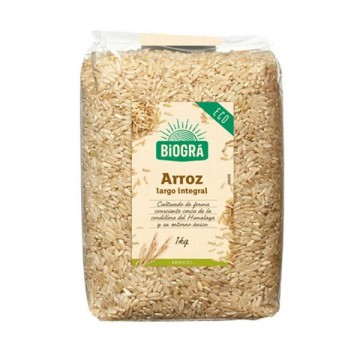 Arroz Integral Largo 1 kg Biogra