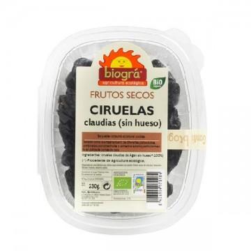 CIRUELAS CLAUDIAS SIN HUESO Bio 230 gr