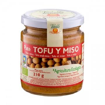 PATE TOFU Y MISO Bio 180 gr Vegetalia