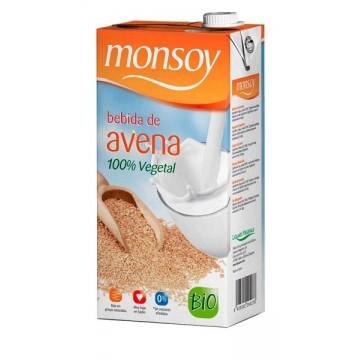 BEBIDA DE AVENA Bio 1 L Monsoy