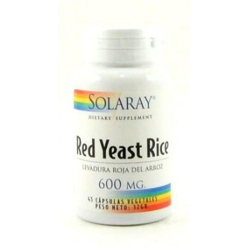 Red Yeast Rice 45 caps Solaray