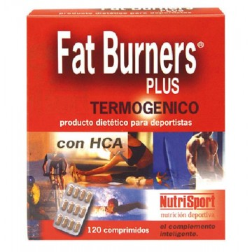 FAT BURNERS PLUS 120 comp Nutrisport