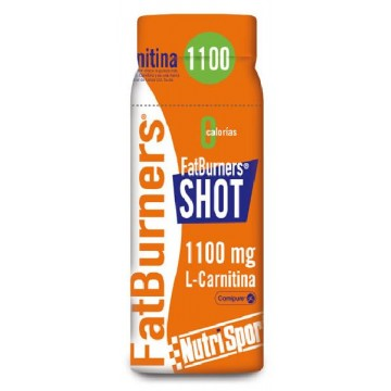 FAT BURNERS SHOT 1100 mg L-CARNITINA