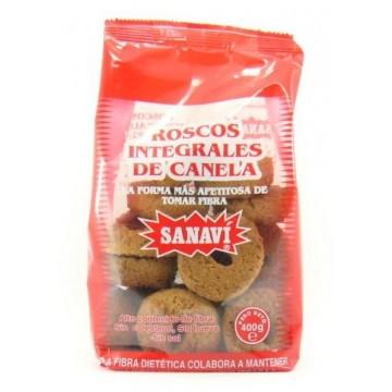 ROSCOS INTEGRALES DE CANELA 400 gr