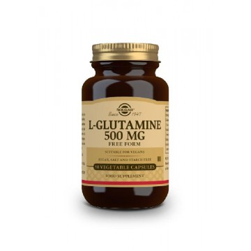 L-Glutamina 500 mg 50 caps Solgar