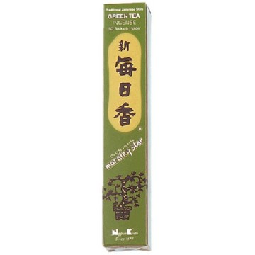 INCIENSO MORNING STAR TÉ VERDE 50 bar