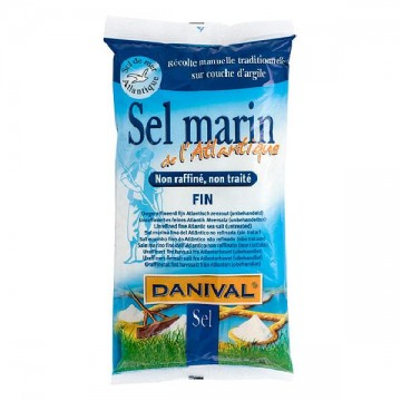 Sal marina fina 1 Kg Danival