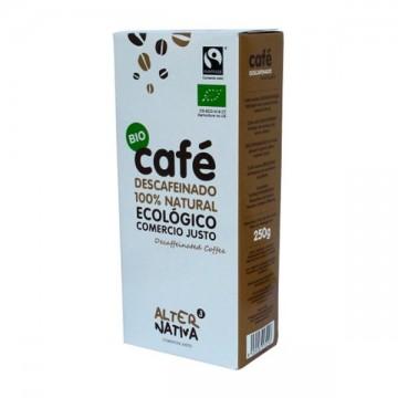 CAFE DESCAFEINADO 100% Natural Bio 250gr