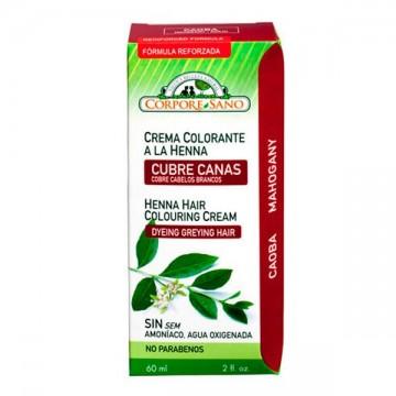 CUBRE CANAS A LA HENNA CAOBA 60 ml