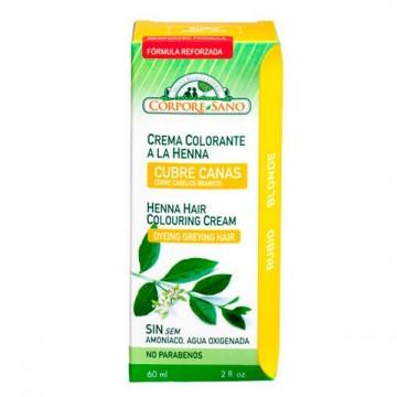CUBRE CANAS A LA HENNA RUBIO 60 ml