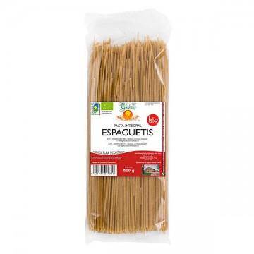 ESPAGUETIS INTEGRALES Bio 500 gr