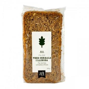 Pan tres cereales Bio 500 gr Rel