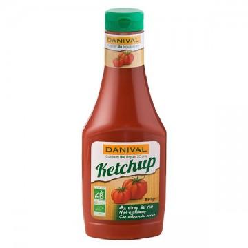Ketchup sin azucar Bio 560 gr Danival