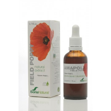 EXTRACTO NATURAL DE AMAPOLA XXI 50 ml SN
