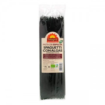 Spaguetti de espelta con alga Bio 250 gr