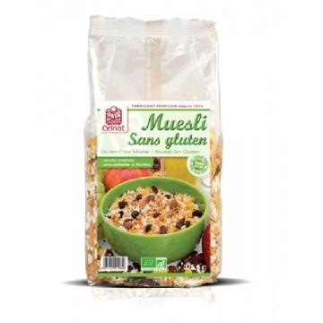 MUESLI Sin Gluten Bio 375 gr Celnat