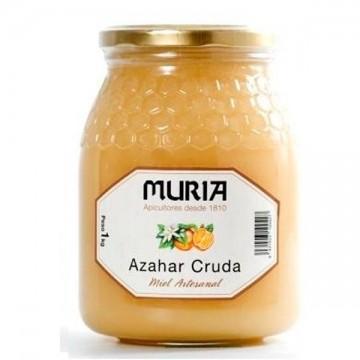 Miel de Azahar cruda 1 kg Muria