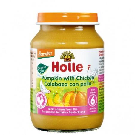 POTITO DE CALABACIN CON POLLO Bio 190 gr