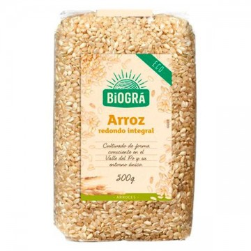 ARROZ INTEGRAL REDONDO Bio1 kg Biogra