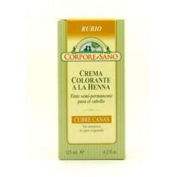 CUBRE CANAS A LA HENNA RUBIO 125 ml