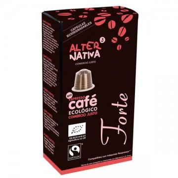Cafe forte capsulas 10 uni Alternativa 3