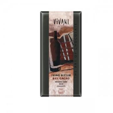 CHOCOLATE NEGRO 85% Bio 100 gr Vivani