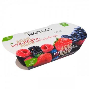 Gelatina Agar Agar Frutas Bosque Bio