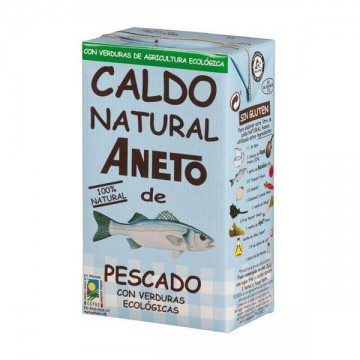 CALDO NATURAL DE PESCADO Bio 1 L Aneto
