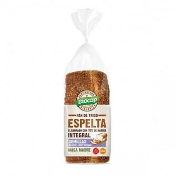 Pan molde Espelta con semillas Bio 400gr