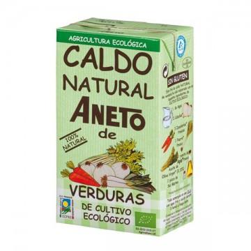 CALDO NATURAL DE VERDURAS Bio 1 L Aneto