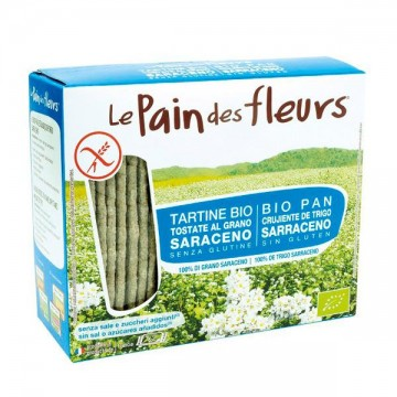 Pan de flores sarraceno s/sal Bio 150 gr