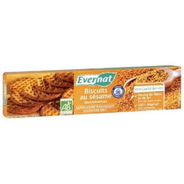 GALLETAS SESAMO Bio 150 gr Evernat