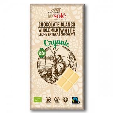 Chocolate Blanco Bio 100 gr Sole