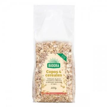 Copos 4 Cereales Bio 500 gr Biogra