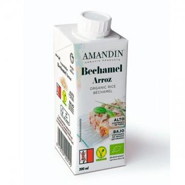 Bechamel de arroz Bio 200 ml Amandin