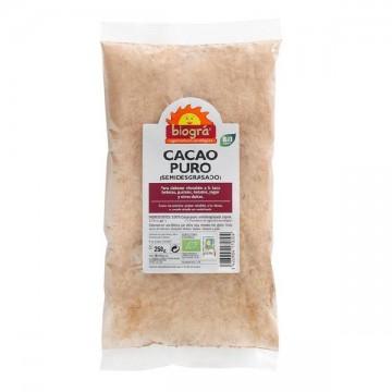 CACAO PURO en polvo Bio 250 gr Biográ