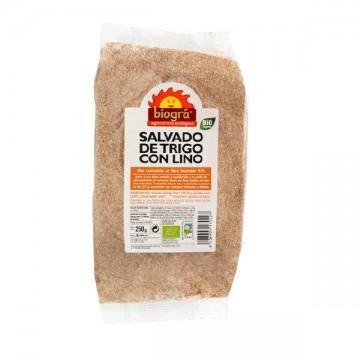 SALVADO DE TRIGO CON LINO Bio 250 gr