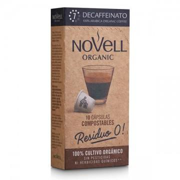 CAFE DESCAFEINADO Eco 10 caps Novell