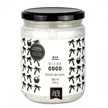 Aceite de coco Bio 380 ml  Rel