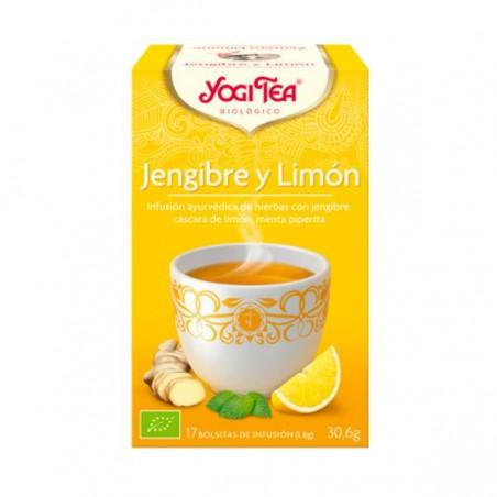 YOGI TEA JENGIBRE LIMON Bio 17 filtros