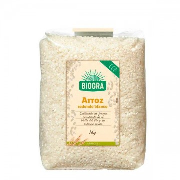 Arroz Blanco Redondo 1 kg Biogra